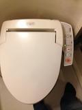 ウォシュレット機能付きのトイレでした!