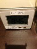 時計アラームは備え付けです。