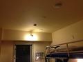 部屋の照明写真です。