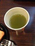 緑茶美味しいです。