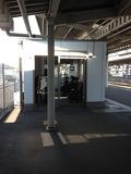 土浦駅待合室です。