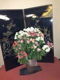 ロビーにおしゃれな花があり素敵でした。