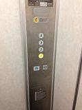 エレベータースイッチ写真です。