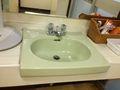 温泉 手洗い場です。
