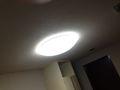 部屋のライト写真です。