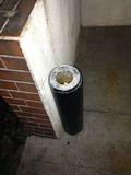 館内は禁煙なので、入り口横で喫煙します。