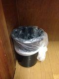 ゴミ箱写真です。
