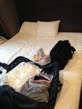 ベッド広かったのがよかったですね!