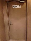 廊下 非常口です。
