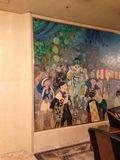 博多風の壁画です。