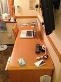 部屋机 写真です。