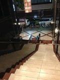 ホテル階段です。