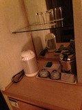 お湯ポッド やコップ お茶のサービス充実しております。