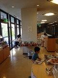 朝食会場写真です。