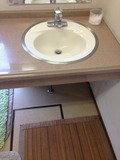 温泉 洗面台です。