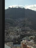 稲佐山が見えます