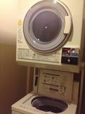 洗濯機と乾燥機がありました。