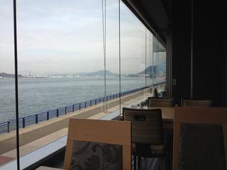 レストランからの眺めです