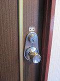 古いタイプの鍵です。