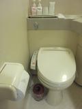 ウォシュレット付トイレでした。