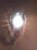 フロントの照明です。