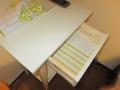 引き出しの中には予備のメモ帳がありました。