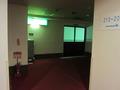 ホテル廊下です。