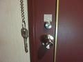ホテルの鍵です。