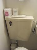トイレの上部です。