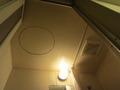 バスルームの天井きれいでした。