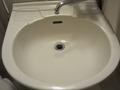 洗面台の流しもきれいでした。