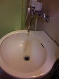 洗面の流しもきれいでした。