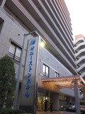 サニーストンホテル新館の入口です。