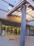 サニーストンホテル新館の玄関です。