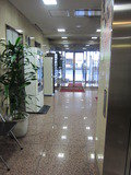 ホテル1階の入口です。