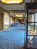 ホテル3階の廊下です。