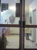 ホテル入口の扉です。