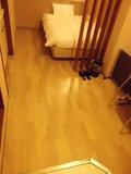部屋の床です。