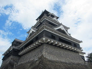 周辺観光:熊本城行きました。