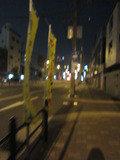 ホテルのある通りです。