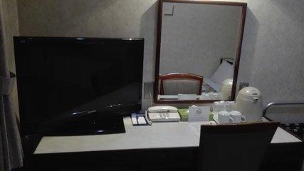 写真クチコミ:部屋の机の上