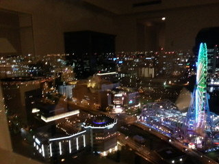 部屋からの眺望