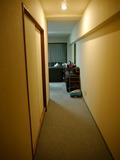 部屋内廊下