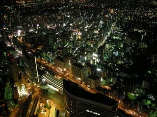 街側の夜景が素敵