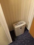 加湿器はドアの隣です