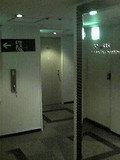 客室階のエレベーターホールです
