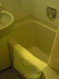 浴槽のサイズは標準的です