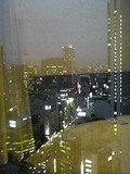 窓からの夜景です