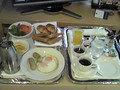 洋朝食のルームサービスです