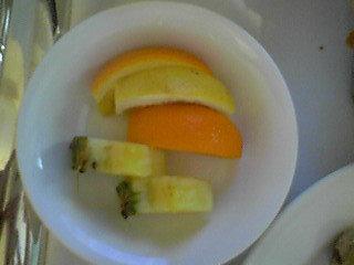 フルーツは3種類です